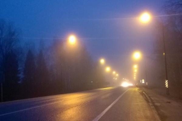 Самые опасные дороги города осветили