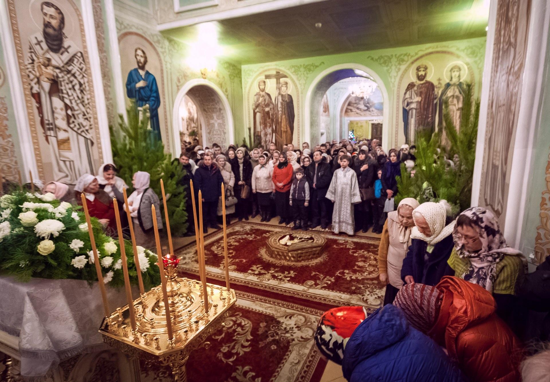Праздничные службы прошли в 82 храмах, соборах и церквях области