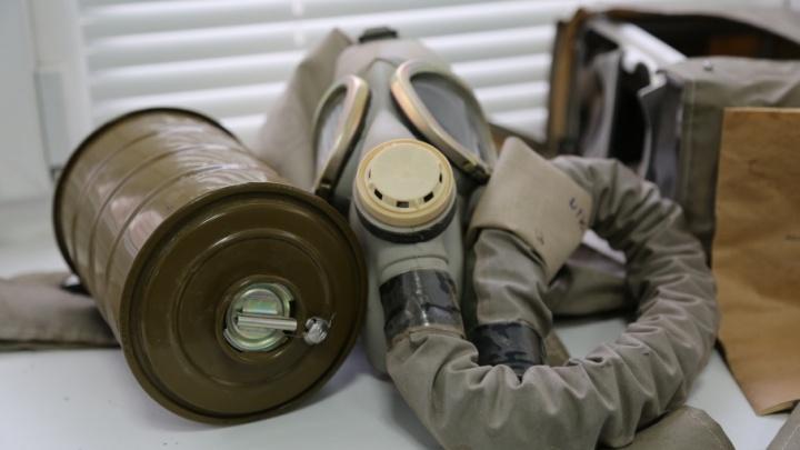 Жители Красноармейского района вновь прячутся от газовых атак