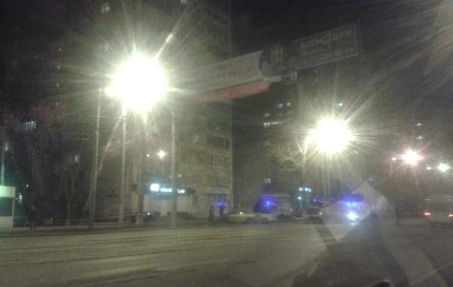 Улицу Мира в районе ДК Гагарина оцепили из-за двух огнетушителей