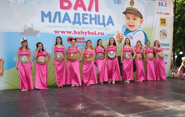 Карнавал колясок и «арт-животик»: в Ростове пройдет «Бал младенца»
