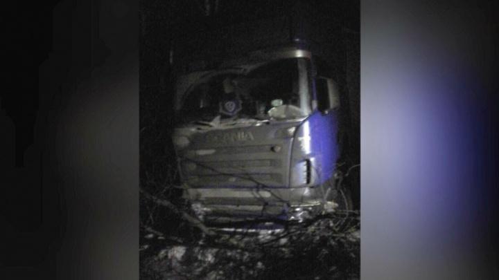 На тюменской трассе от сердечного приступа умер водитель фуры