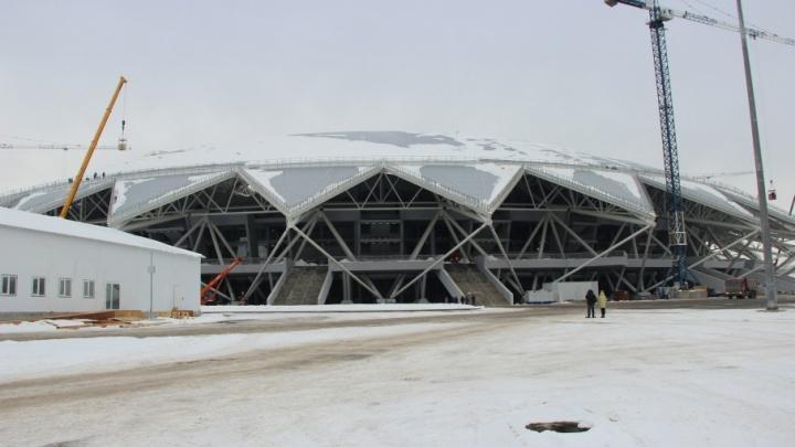 FIFA отдадут четыре участка земли около «Самара Арены»