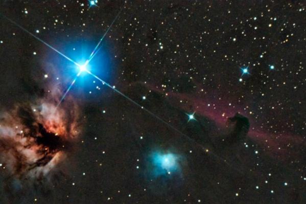 Небесные тела можно разглядеть в ясную погоду