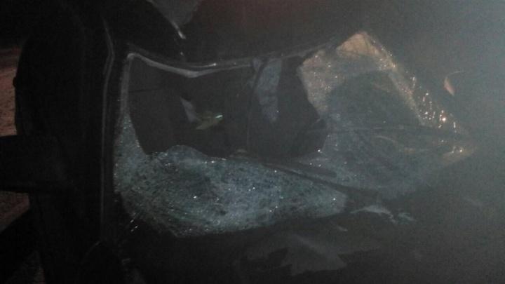 На трассе Тюмень — Ханты-Мансийск автомобиль Lada насмерть сбил пешехода