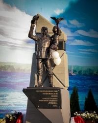 В Прикамье открыли памятник «Нефтяникам-первопроходцам»