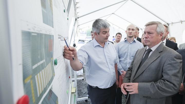 Василий Голубев раскритиковал ход ремонта на мосту Стачки в Ростове