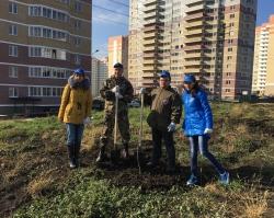 Банк «Кубань Кредит» принял участие в Дне древонасаждения в Ростове