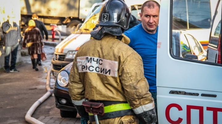 Ночной пожар в Кагальницком районе унёс жизни двух человек