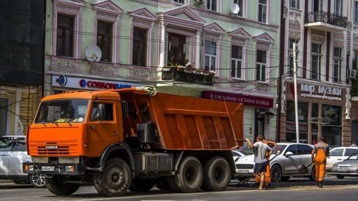 Ремонт 83 участков дорог в Ростове завершат в конце октября