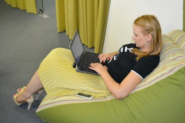 В некоторых компаниях специалистов балуют удобными лежаками