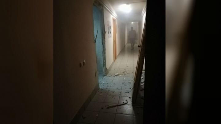 В студенческом общежитии в Ярославле произошёл взрыв