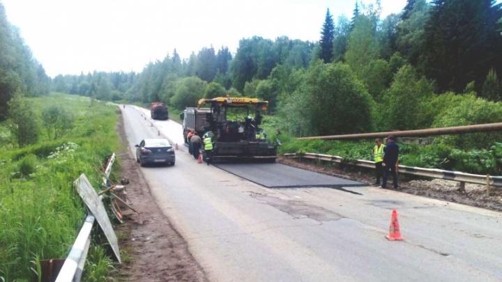 После жалоб пермяков подрядчики выровняют дорогу от Новых Лядов до Сылвы