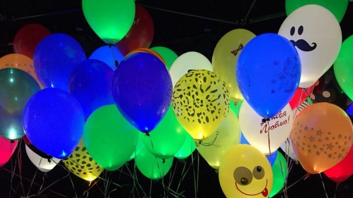 В Волгограде взмоют в небо несколько тысяч цветных светошариков