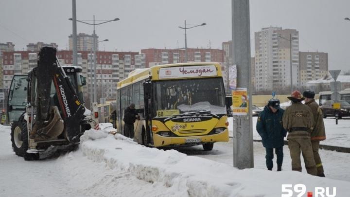 После ДТП с автобусами в Перми, где погиб ребенок, следователи ищут всех пострадавших и очевидцев