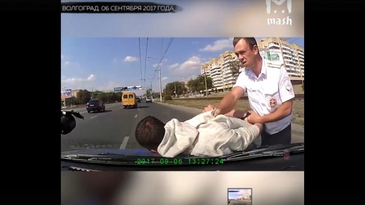 Полицейские Волгограда открыли погоню за пьяным лихачом