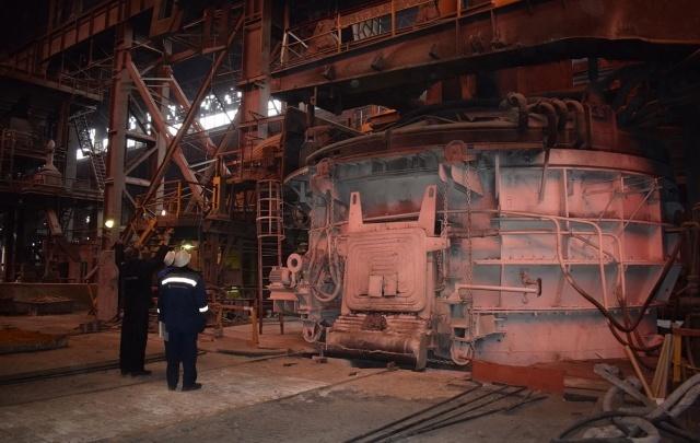 На «Красном Октябре» после модернизации запущена электросталеплавильная печь №5