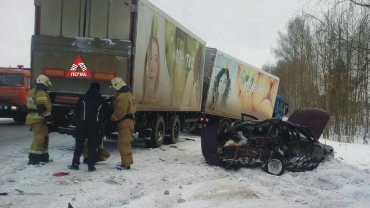 «Она никогда не гоняла»: в Прикамье в столкновении «Лады» с грузовиком погибла водитель легковушки