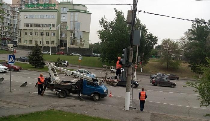 Светофоры в Волгограде оснастят электронными табло