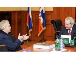 Виктор Басаргин встретился с Михаилом Пиотровским