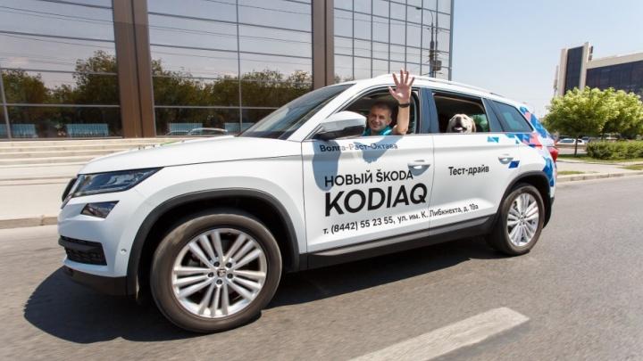 Семейный тест-драйв: волгоградцы испытали впечатляющие новинки этого года от ŠKODA