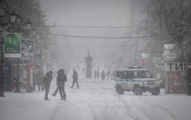 Ветер и снег накрыли Челябинскую область, скоро к ним присоединится мороз