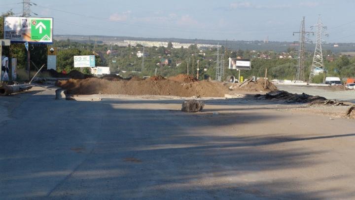 Жителям 18 километра заблокировали выезд на Московское шоссе