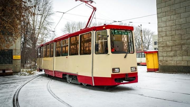 На выходные в центре Челябинска закроют движение трамваев и троллейбусов