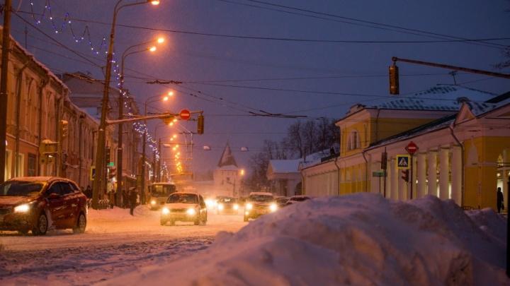 Ярославль накроет вторая снежная волна