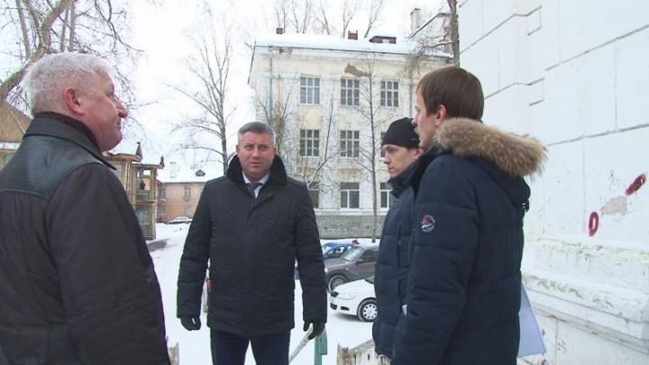 В Северодвинске реконструируют законсервированную школу