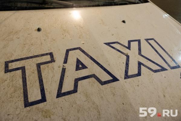 Нападение на водителя такси произошло утром 6 октября в Чусовом