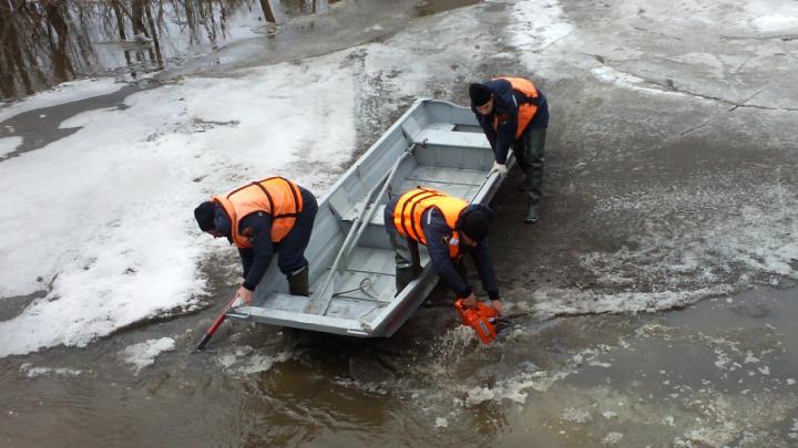 В Шолоховском районе река вышла из берегов и залила один из хуторов