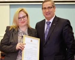 Преподаватель ЮУрГУ получила благодарственное письмо губернатора