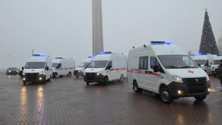 Самарской области добавили машин скорой помощи