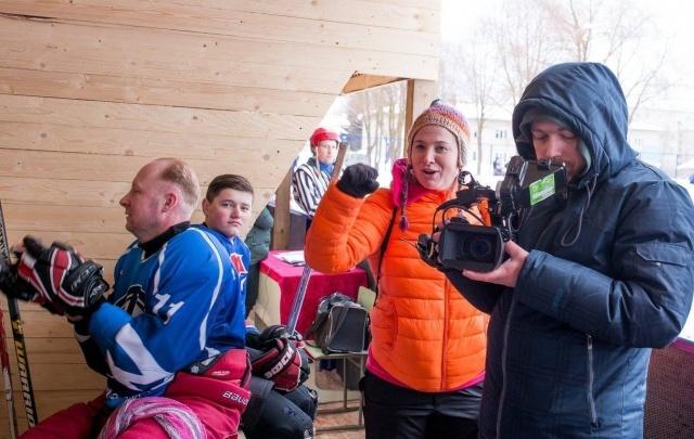 Даниловских хоккеистов покажут по федеральному спортивному каналу