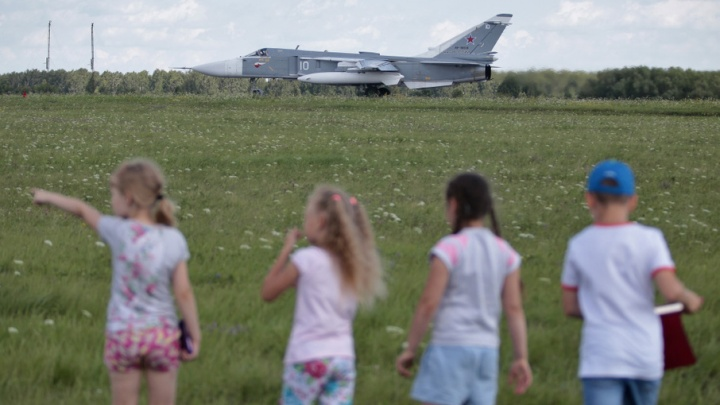 День авиации в Челябинске отпраздновали с «Сушками» и спецназом