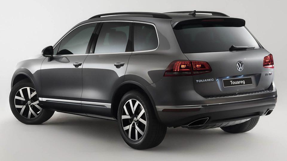 Volkswagen Touareg Wollfsburg Edition запоминается с первого взгляда