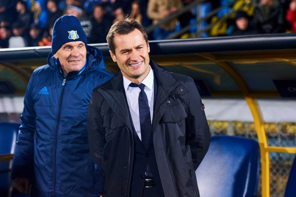 Дмитрий Кириченко исполнял обязанности главного тренера после отставки Леонида Кучука