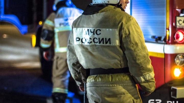 Самарские следователи нашли виновника крупного пожара на складе РКЦ «Прогресс»