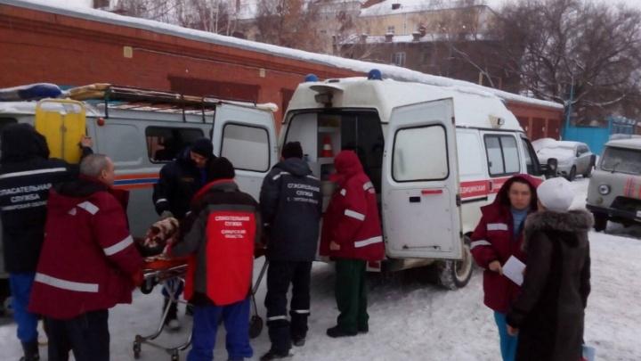 Самарские спасатели переправили из Рождествено женщину с черепно-мозговой травмой