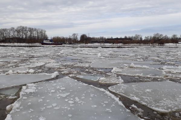 Пока подтоплений населенных пунктов в Поморье нет