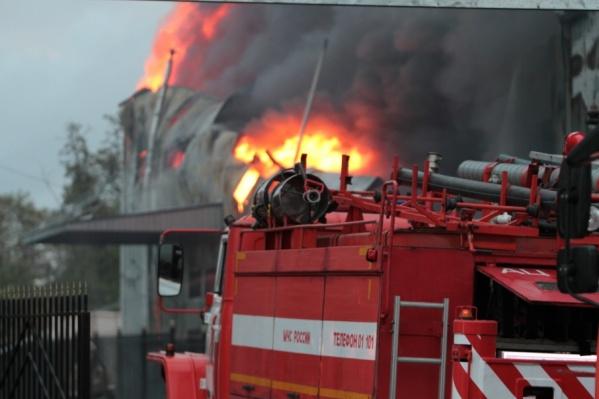 Пожар произошёл в хуторе Малый Мишкин Аксайского района