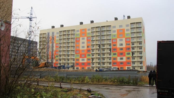 В гордуме Архангельска боятся, что социальные дома на Московском не будут сданы в срок
