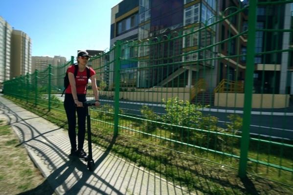 Марина Арбатская — одна из героинь нашей свежей публикации о тюменцах с необычным транспортом