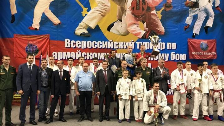Донские спортсмены признаны лучшими на всероссийском турнире по рукопашному бою