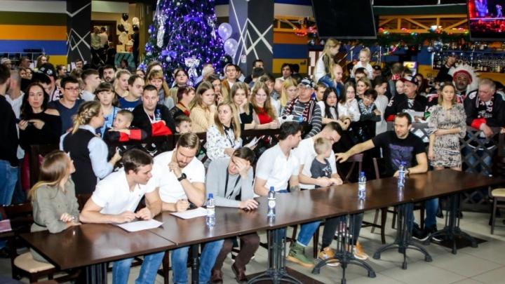Челябинский «Трактор» отметил свой юбилей вместе с болельщиками