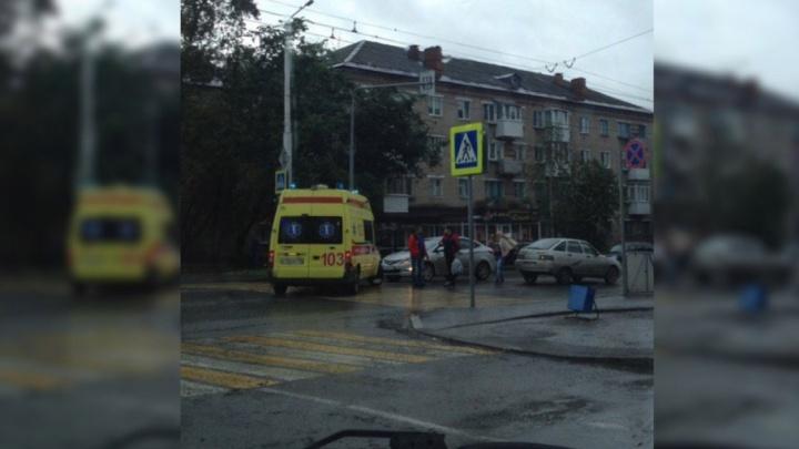 ГИБДД Березников: сбитая машиной беременная женщина получила травму черепа и сотрясение мозга