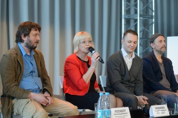 Перед началом репетиции Евгения Умникова поделилась своими впечатлениями.