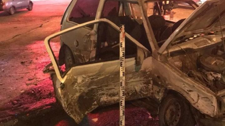 В Мотовилихе три человека пострадали в ДТП: столкнулись «четырнадцатая» и «Ока»