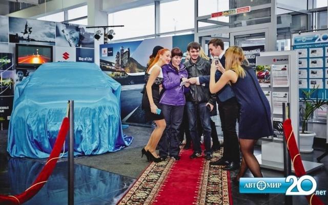 Премьерный показ Suzuki NEW SX4 состоялся